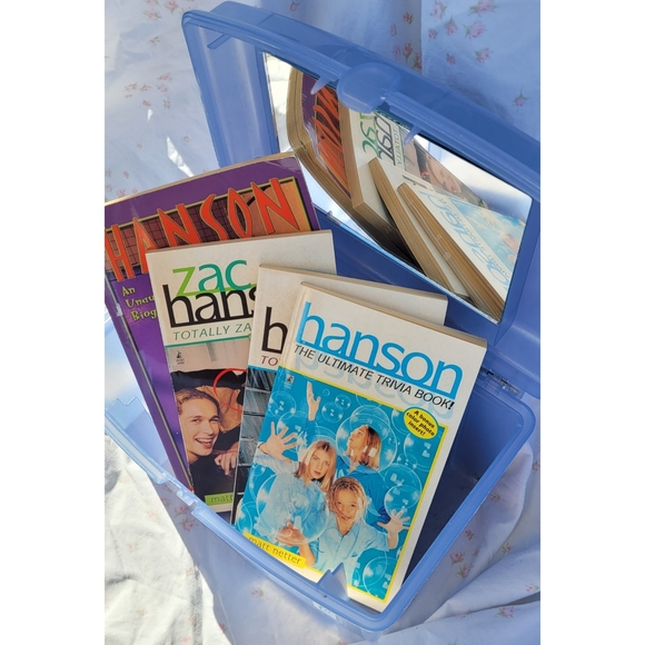 ♡Set of 4 Hanson Book♡